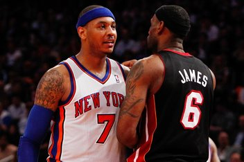 NBA: Playoffs-Miami Heat at New York Knicks