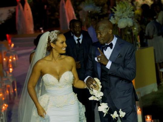 Chad Ochocinco And Evelyn Lozada Wedding